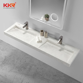 Lavabo sospeso Solid Surface Small Slope
