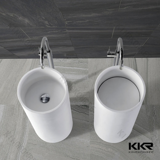 Lavabo freestanding in superficie solida KKR-1389